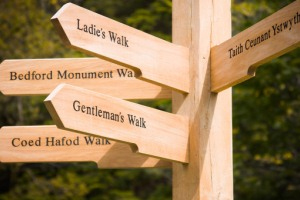 Waymarks for walks