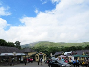 The starting point at Llanberis