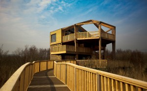 The new 360° observatory at Cors Dyfi