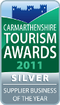 Carmarthenshire Tourism Awards 2011 Silver Winner