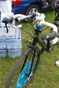 Check Point 2 - lots of water for us to rehydrate