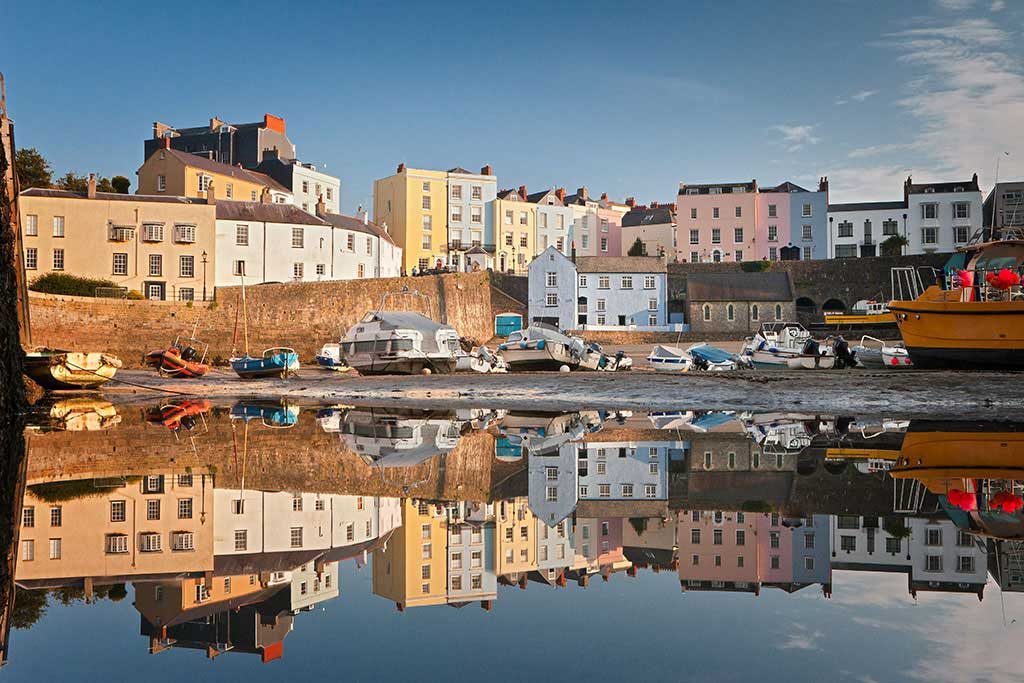 tenby-harbour-reflections-1