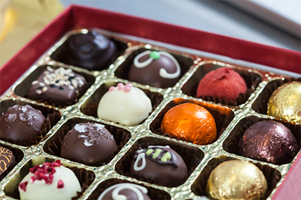 Box of chocolates by Chocolate Fusion