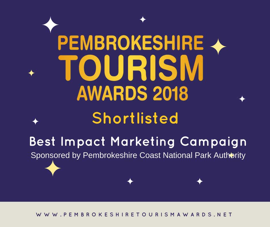 Pembrokeshire Tourism Awards 2018 shortlisted