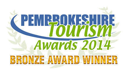 Pembrokeshire Tourism Awards 2014 - Bronze Award Winner