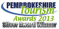 Pembrokeshire Tourism Awards 2013 - Silver Award Winner