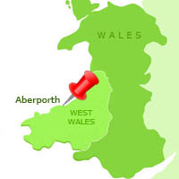 Aberporth Guide West Wales Holiday Cottages - Where is wales