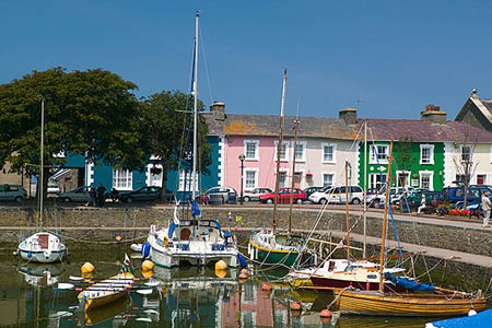 Aberaeron on Cardigan Bay