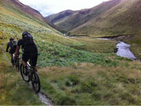 Mountain biking at Brechfa