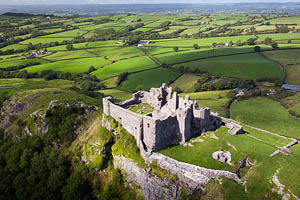 Carreg Cennen Castle in Carmarthenshire