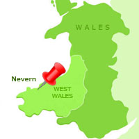 Nevern Map