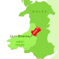 Upper Towy and Llyn Brianne Map