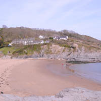 Photo of Aberporth Beach.