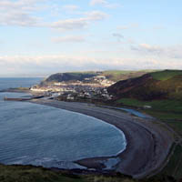 Photo of Aberystwyth South Beach.