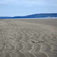 Photo of Cefn Sidan Beach.