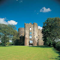 Photo of Laugharne Castle