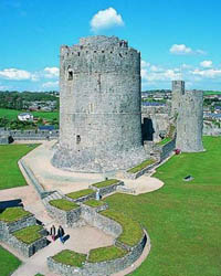 Photo of Pembroke Castle.