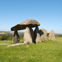Photo of Pentre Ifan Burial Chamber