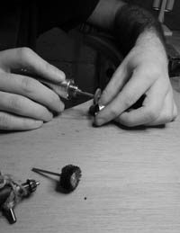 Photo of Rose Wood – Silver Jewellery Workshops.