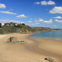 Photo of Tenby North Beach.